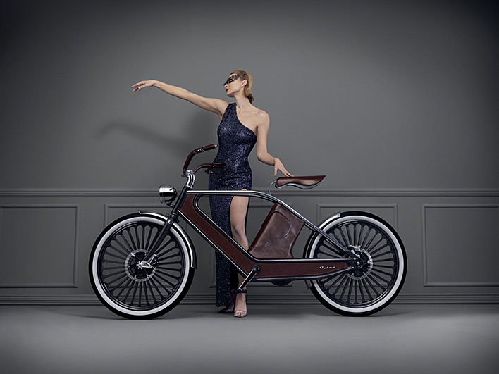 Cykno Vintage Electric Bicycle