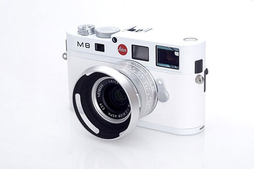 Leica M8 Special Edition White Version