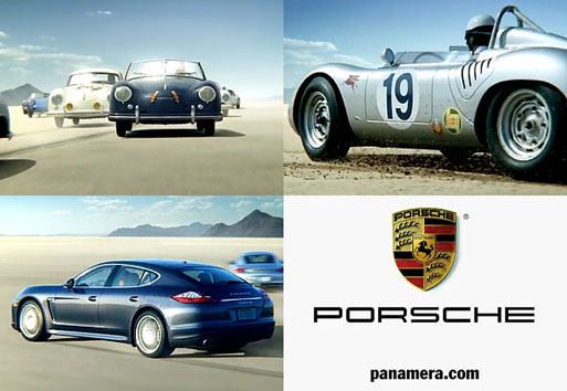 Porsche Panamera TV Commercial