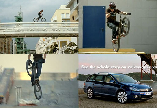 Volkswagen Golf Estate: Danny Macaskill