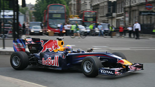 Red Bull Pitstop London