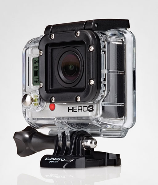 Новая камера GoPro:Hero3 Black Edition