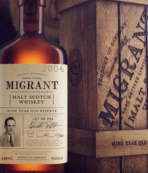 Уильям Фолкнер заценил бы дизайн Migrant Whiskey